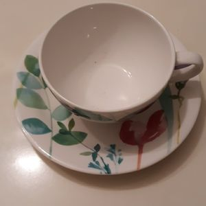 Water Garden Cup and Saucer Set